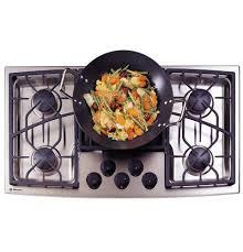 Gas Stainless Steel Cooktop Zgu375nsdss Ge Monogram 36