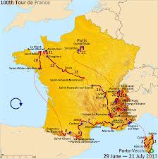 Camino Frances Map by Tour De France Map 2014 Recana Masana