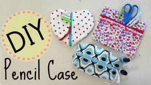 diy pencil case u0026 makeup bag no sew project by michele baratta