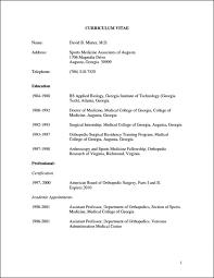 curriculum vitae format template download medical cv format pdf billing resume templates word coding
