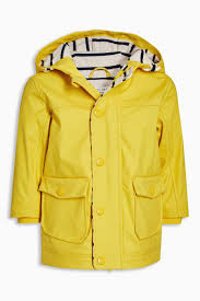 yellow rubber jacket 3mths 6yrs from the next uk online shop