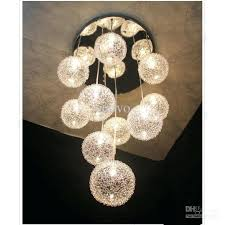 light pendant glass rope globe shape pendant light glass