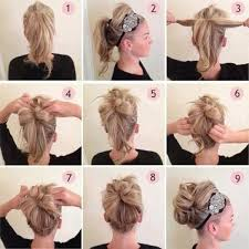 step by step easy updos for thin hair 2017 easy bridal hairstyles for medium hair