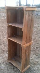 diy pallet bookshelf u2013 decorative display unit pallet furniture diy
