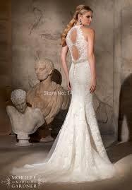 wedding dress open back aliexpress buy best sale graceful lace mermaid wedding