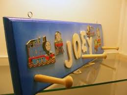 train theme coat rack personalized gifts for kids