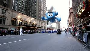 new york city ny november 24 smurf balloon in the macy s 85th