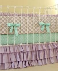 Seashell Crib Bedding Mermaid Crib Bedding Bedding Baby Cribset Custom Baby
