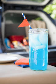 blue cocktails best tailgate cocktails uf gatorade margarita recipe