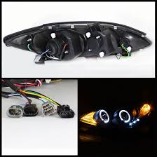 2004 toyota camry lights 2004 toyota camry angel eye halo led projector headlights smoked