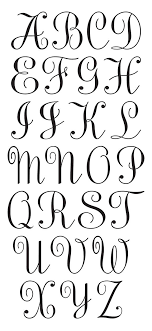wording wedding invitations3 initial monogram fonts best 25 monogram alphabet ideas on monogram letters