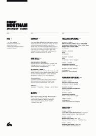 design inspiration the art of the résumé resume layout cv