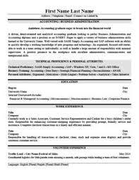 Accounting Sample Resume by General Accountant Resume Template Premium Resume Samples
