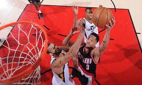 Utah traveling teams images Trail blazers travel to utah to face jazz in between homestands jpg