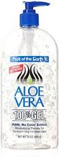 fruit of the earth aloe vera juice with 99 8 aloe 1 gal