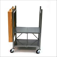 luxury folding kitchen island cart