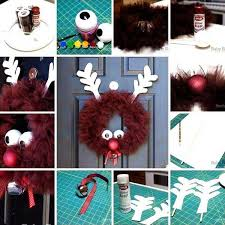 Christmas Decorations You Can Make At Home - top 38 easy and cheap diy christmas crafts kids can make amazing