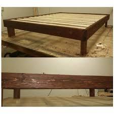 Platform Beds Queen - montana edition platform bed queen the rattlin u0027 antler custom