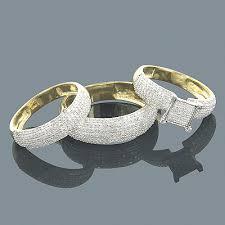 Wedding Ring Set by Wedding Rings Sets Gold Engagement Ring Sets Bridal Set At