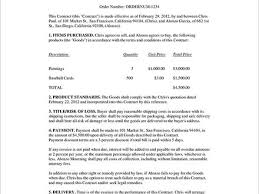 doc 585630 free business contract u2013 business contract template