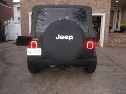 jeep wrangler third brake light raising the third brake light on a jeep wrangler