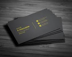 Minimal Design Business Cards Minimal Design Etsy