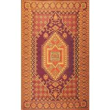 Recycled Plastic Rug Mad Mats Turkish Rust Rug 6 U0027 X 9 U0027 Real Goods