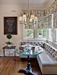 dinning rooms cute breakfast nook with elegant bench seat and