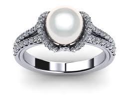 pearl rings diamonds images White south sea pearl rings jpg