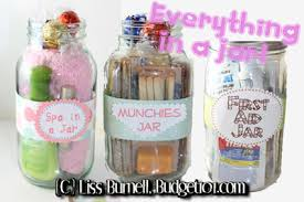 everything in a jar jar gift ideas budget101