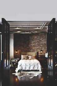 22 great bedroom decor ideas for men brick walls loft and bedrooms