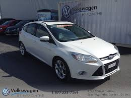 siege ford used 2012 ford focus sel cuir siege electrique toit white 113 000 km