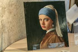painting the girl with the pearl earring painting by tim jenison with pearl earring using flickr