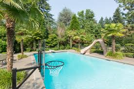 pure pool fun typhoon water slide completehome