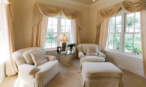 appealing formal living room window treatments with great curtain