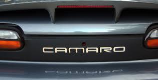 matte black chrome letters stuff for the camaro pinterest