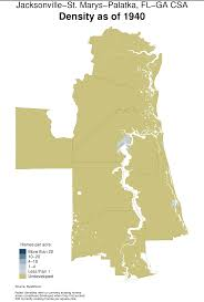 Jackson Ms Map Can U S Cities Compensate For Curbing Sprawl By Growing Denser