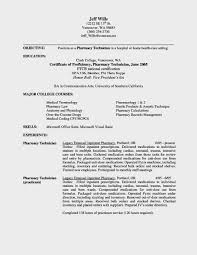 Service Technician Resume Sample by Pharmacy Technician Resume Summary Resume For Your Job Application