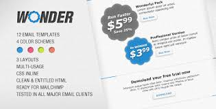 wonder html email template by reymarval themeforest