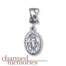 kay jewelers charms kay charmed memories miraculous medal charm sterling silver