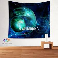 galaxy tapestry fantasy space wall tapestry galaxy tapestry wall