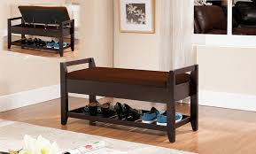 Bench With Cushion Amazon Com Kings Brand Furniture Wood Shoe Storage Bench With