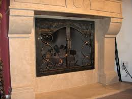 uniflame bronze fireplace screen small layton oil rubbed single