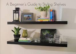 survivor styling floating shelves