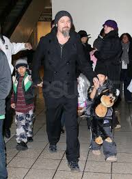 Dave And Busters Halloween 2015 by Photos Of Angelina Jolie Filming Salt Brad Pitt With Maddox And