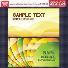 Design Your Own Business Cards Aliexpress Com Buy 0272 09 Business Card Template For Name Card