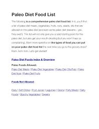 dos and don u0027t of the paleo diet