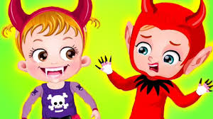 Halloween Cartoon Monsters by Baby Hazel Haunted Castle Fun Play With Baby Hazel Vs Halloween