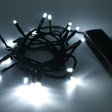 Outdoor Twinkle Lights by Led Durawise Outdoor Twinkle Lights 96 Bulb Multi With Black Cable