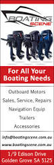 boating scene boat motors u0026 outboards 1 9 edison dr golden grove
